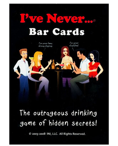 I&#039;ve never bar cards