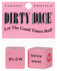 Dirty dice game - bag of 12