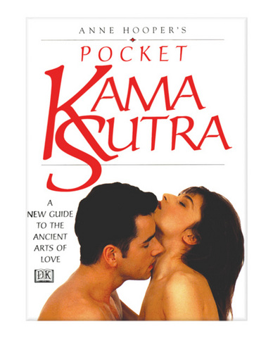 Anne Hooper's Pocket Kama Sutra Book Sex Toy Product