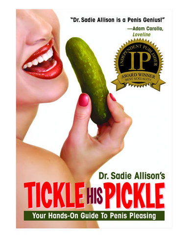 Book, tickle his pickle hands on guide to penis pleasing