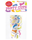 Bachelorette risque cups - 8 per pack Sex Toy Product