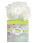 Body spa vibrating sponge - white mesh