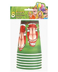 Santa butts flashing, cups - 8 per pack Sex Toy Product
