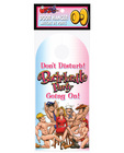 Door hanger-bachelorette party do not disturb