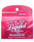 Liquid v, female stimulant box of 3 pillow packs Sex Toy Product