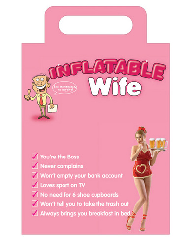 Inflatable wife