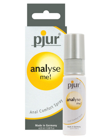 Pjur analyse me! anal comfort spray - .68 oz
