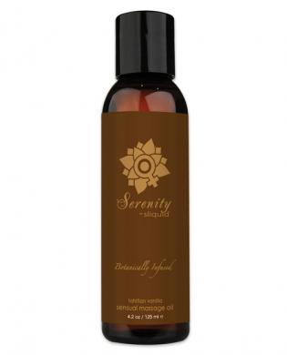 New sliquid organics serenity massage oil 4.2 oz