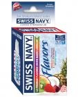 Swiss navy variety flavors box of 12 - assorted flavors 5ml packets