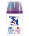 Swiss navy 2-in-1 his and hers gels - 50 ml bottle