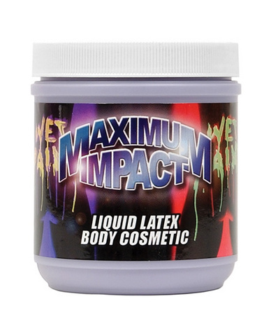 Liquid latex - 16 oz  purple