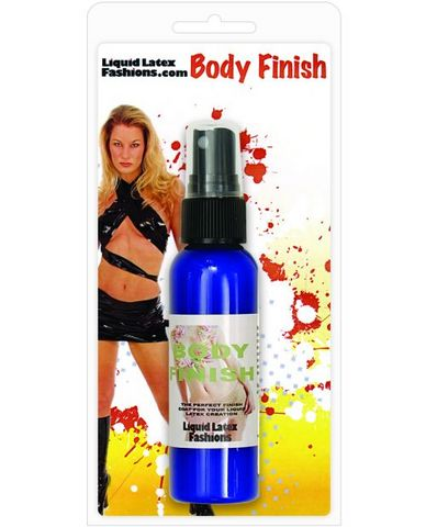 Liquid latex fashions body finish spray - 2 oz