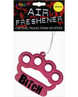 Bitch knuckles air freshener - vanilla