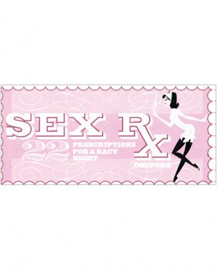 Sex rx coupons book