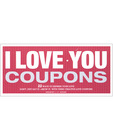 I love you coupons book Sex Toy Product