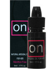 on natural arousal oil for her 5ml bottle