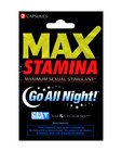 Max - stamina packet - 2 capsules