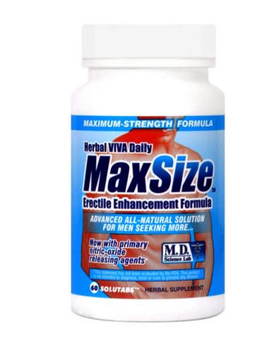 Max size bottle (60 cap)