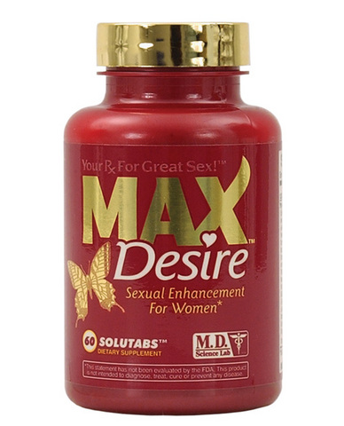 Max desire - 60 count  bottle