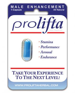 Prolifta male enhancement - 1 ct blister