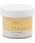 Brand x glymmer effect powder .5 oz - gold