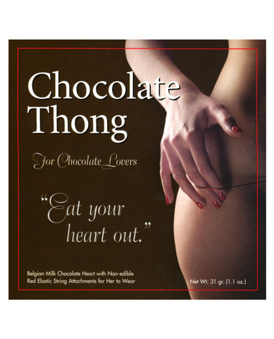Chocolate thong (hers)
