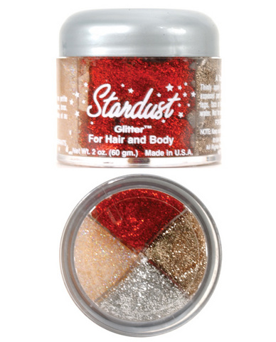 Rainbow body glitter 4 colors - 2 oz