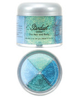 Stardust glitter for hair and body 4 mermaid colors - 2 oz
