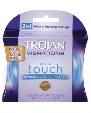 Trojan Vibrating Ultra Touch Finger Vibe