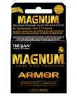 Trojan magnum armor spermicidal condoms - box of 3