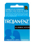 Trojan enz lubricated (3pack)
