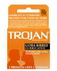 Trojan ribbed (3 pack)