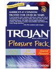 Trojan pleasure pack 3-pack