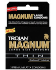 Trojan magnum thin 3-pack Sex Toy Product