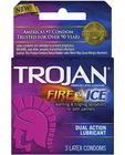 Trojan fire and ice condoms - box of 3 Sex Toy Product