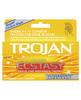 Trojan ultra ultra ribbed ecstasy condoms - box of 10