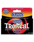 Durex condoms tropical color and scents - box of 12 Sex Toy Product
