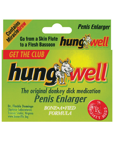 Hung well penis enlarger pills