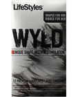 Lifestyles wyld ribbed - box of 12