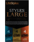 Lifestyles styles large size collection - box of 12
