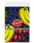 Latex dental dam, banana