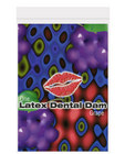 Latex dental dam, grape