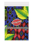 Latex dental dam, mint