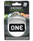 One zero thin condoms - box of 3