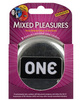 One next generation mixed pleasures condoms - box of 3