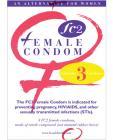 Fc2 female condom - box of 3