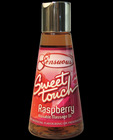 Sensuous sweet touch kissable warming massage oil - raspberry