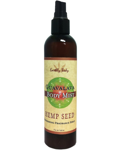 Hemp seed moisturizing body mist - 8 oz guavalava