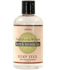 Hemp seed bath/shower gel - 8 oz naked in the woods