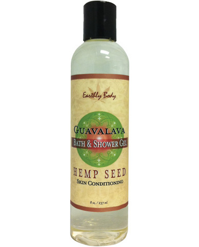 Hemp seed bath/shower gel - 8 oz guavalava